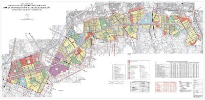 quy hoạch chi tiết xây dựng đô thị khu đô thị nam thành phố