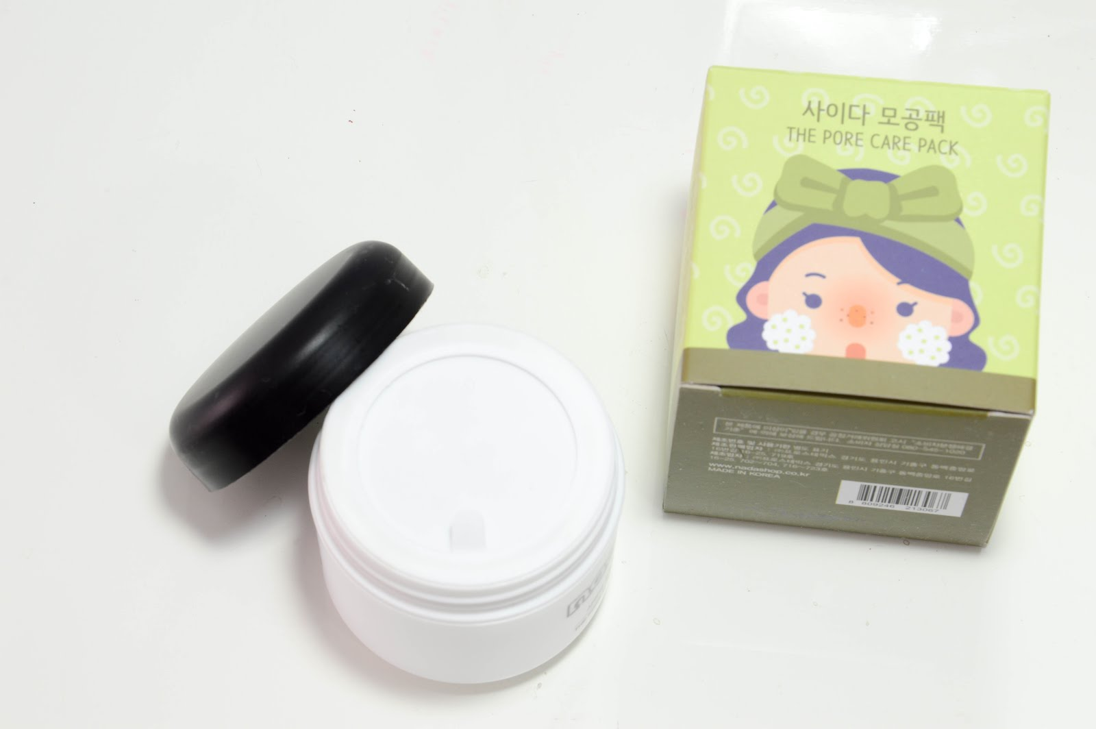 bubble clay mask jolse
