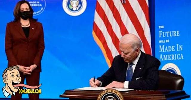 Biden ordenará prohibir la palabra Virus Chino en medios digitales y páginas web