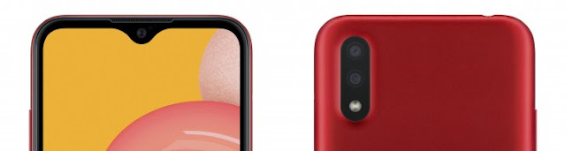 كاميرا هاتف Samsung Galaxy A01