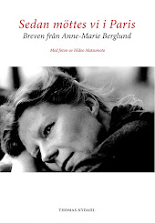 ANNE-MARIE BERGLUND: SEDAN MÖTTES VI I PARIS