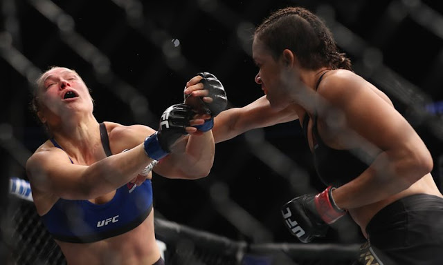 Ronda Rousey trashed by Amanda Nunes in 48 SECONDS