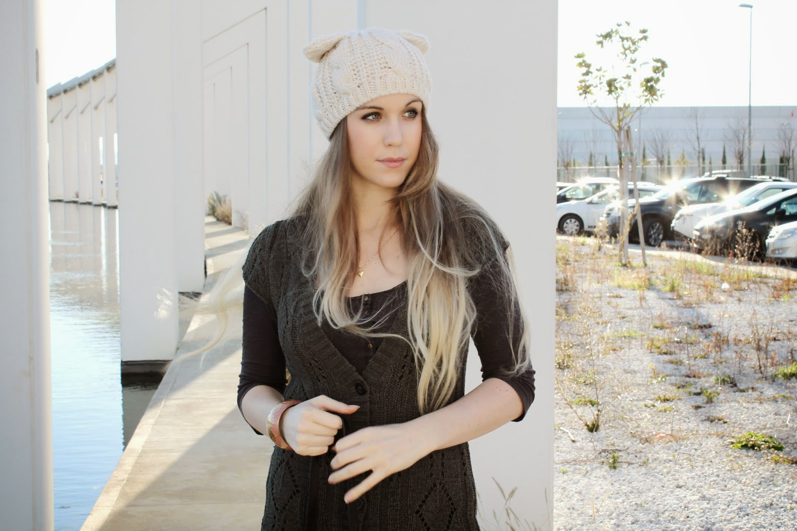 straight blonde ombre hair