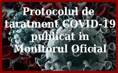 medicamente schema tratament coronavirus oficiala