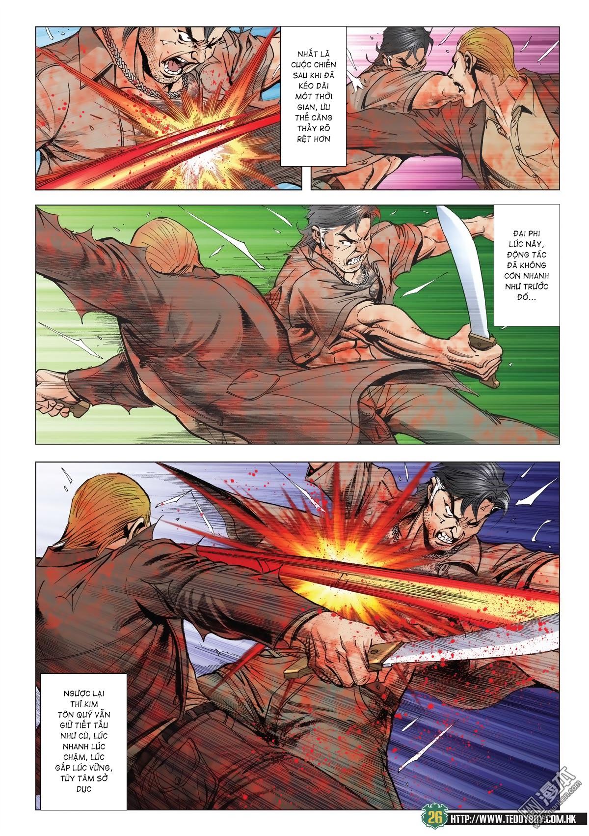 Người Trong Giang Hồ chapter 2033: kim tôn quý vs đại phi trang 23