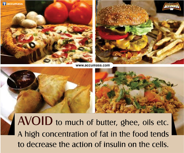 Avoid Oil Foods and Junk foods