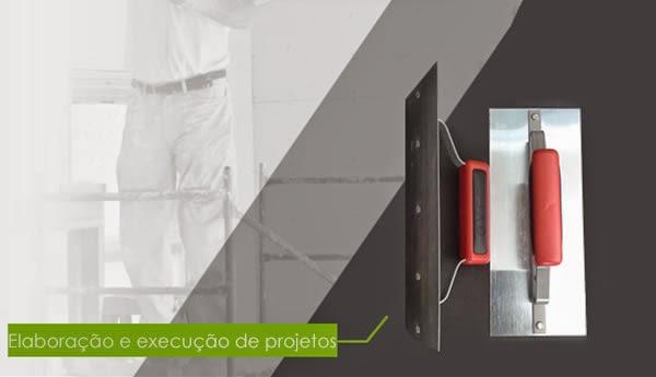 Imagem ilustrativa de execução de projeto de gesso