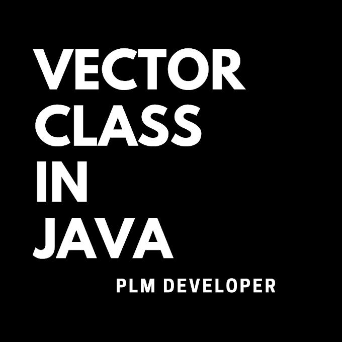 Vector Class In Java | Methods Of Vector Class | PLM Developer