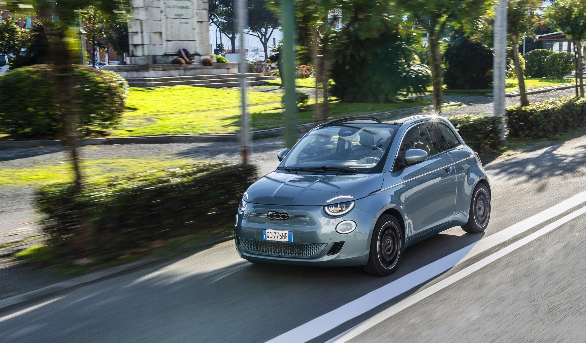 Dal 2025 Fiat diventerà solo elettrica
