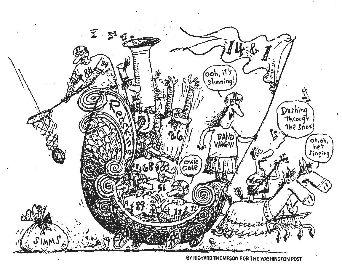 cul de sac: More on Richard's Redskin drawings