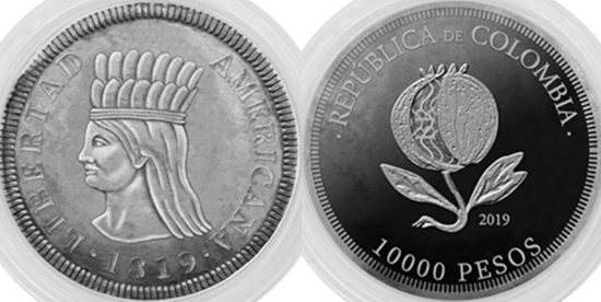 Colombia 10,000 pesos 2019 - Bicentenary of the Independence