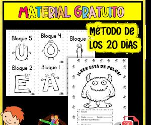 Enseñar a Leer y Escribir método de los 20 días pdf