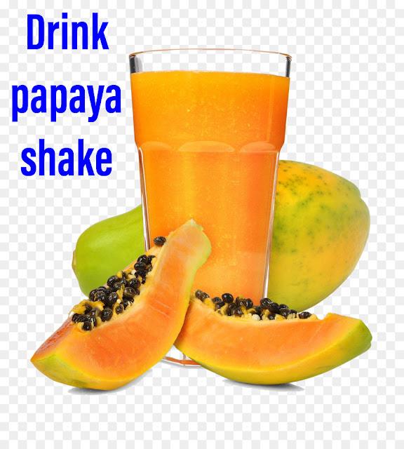 papaya shake-