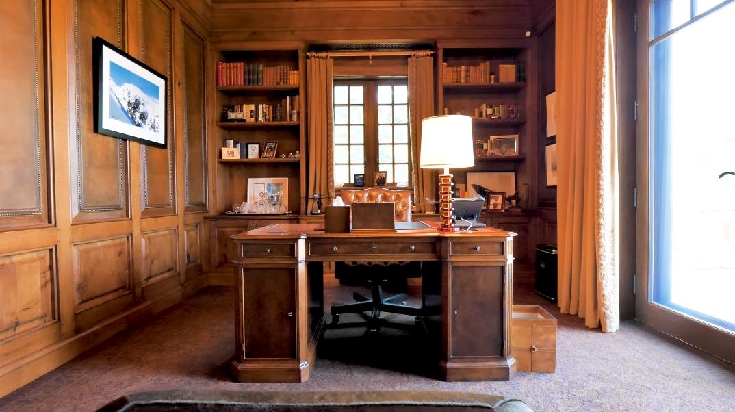42 Interior Design Photos vs. 1025 N Starwood Dr, Aspen, CO Ultra Luxury Modern Rustic Mansion Tour