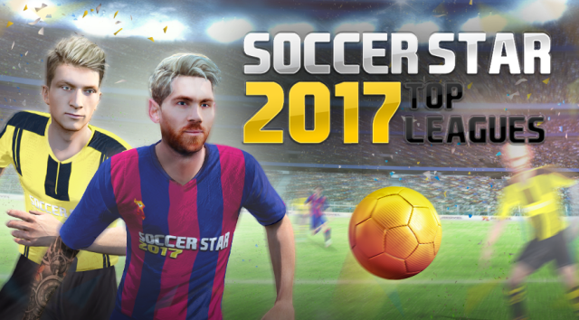 Download Soccer Star 2017 Top Leagues Mod Apk Terbaru