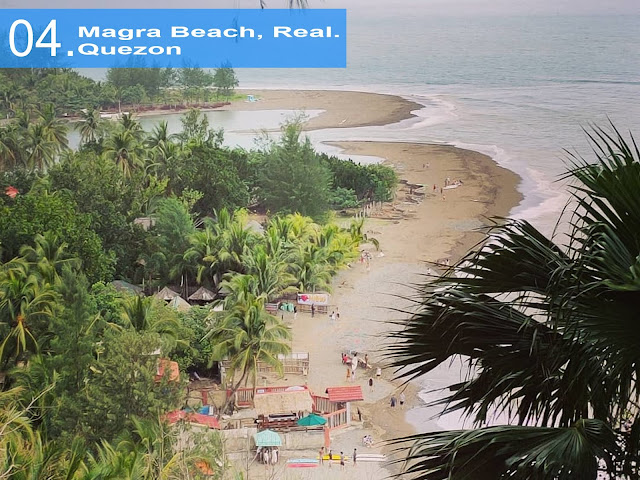 Magra Beach, Real. Quezon Gateway to Pacific
