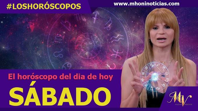Los horóscopos del SÁBADO 18 de SEPTIEMBRE del 2021 - Mhoni Vidente