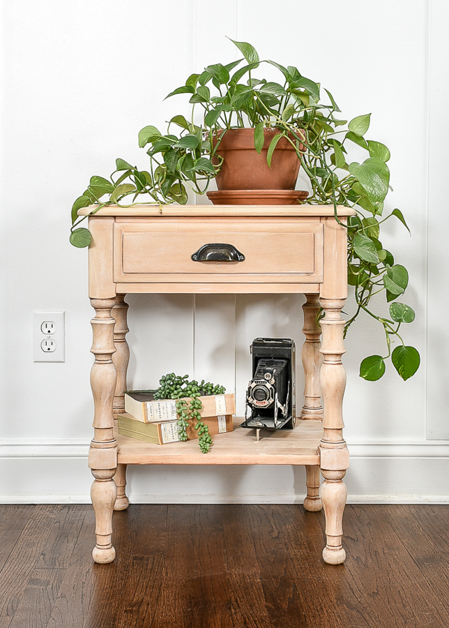 How to get the perfect raw wood look