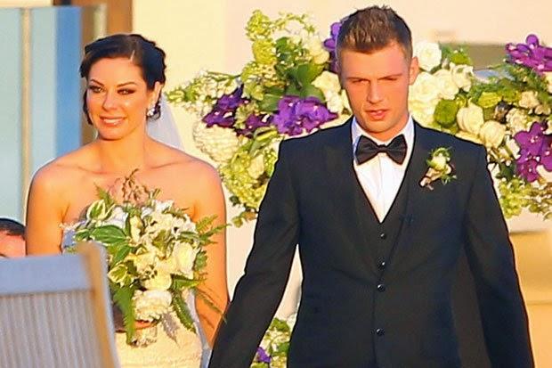 Red Carpet Wedding Red Carpet Wedding Nick Carter And Lauren Kitt