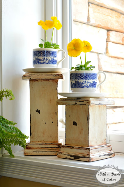 Kitchen Window Sill Ideas: With A Dash Of Color: Decorating The Kitchen Window Sill