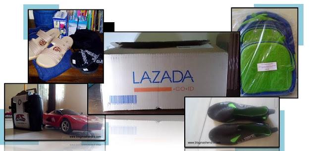 Daftar Barang yang Sudah Pernah Dibeli di Lazada - Blog Mas Hendra