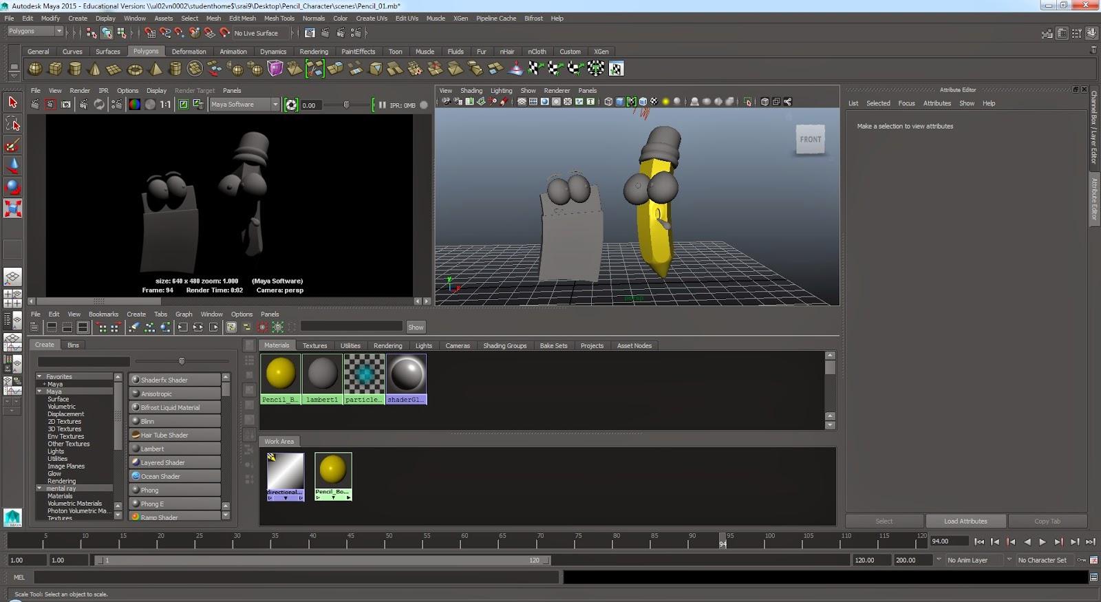 SACHIN RAI - COMPUTER ANIMATION ARTS UCA ROCHESTER: Maya