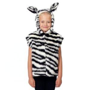 disfraz de cebra