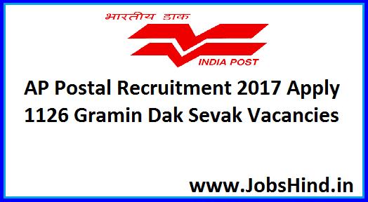 AP Postal Circle Recruitment 2017