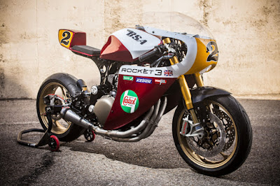 Triumph Legend TT 900 Cafe Racer by  XTR Pepo