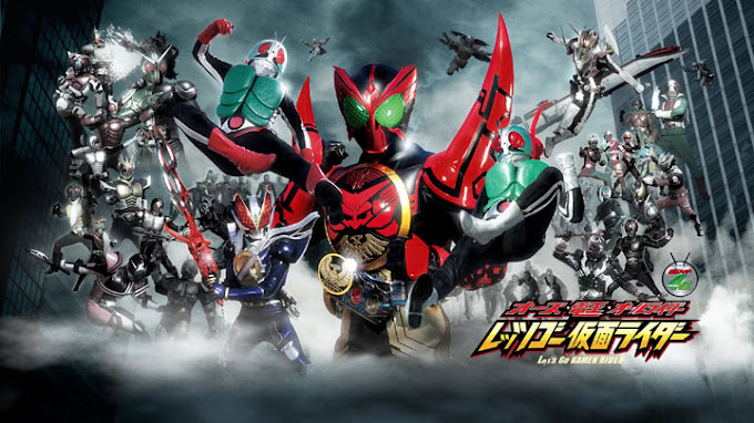 OOO Den-O All Riders: Let's Go Kamen Riders Subtitle Indonesia