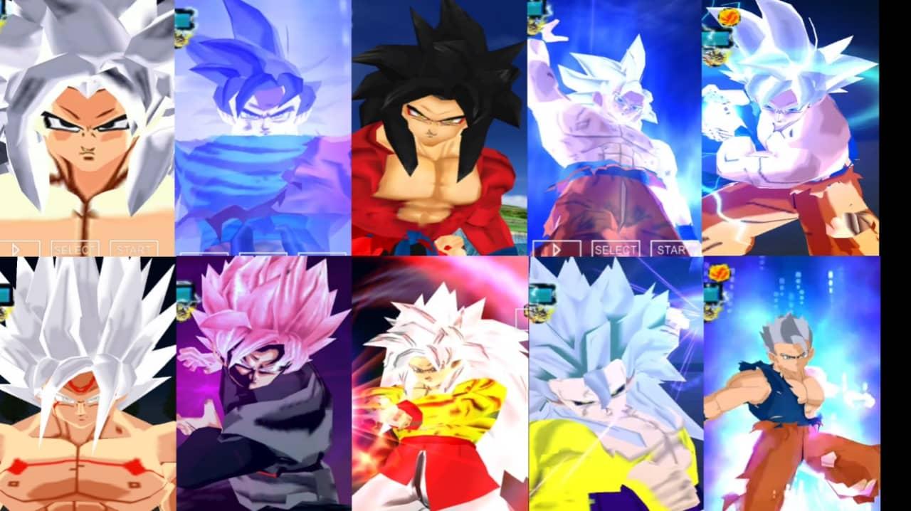 Super Dragon Ball Heroes Goku all Super Saiyan