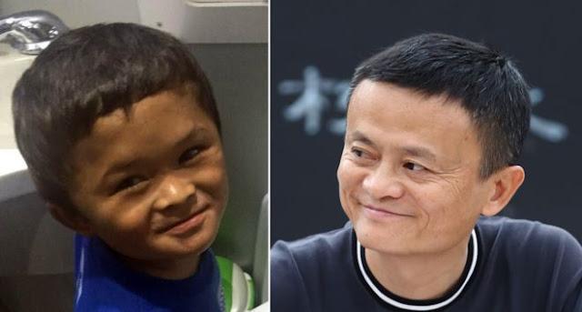 Fan Xiaoqin (lbidix) iyo Jack Ma (midig)