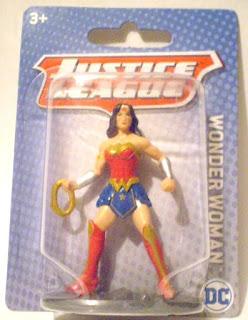 Miniature Wonder Woman Figurine