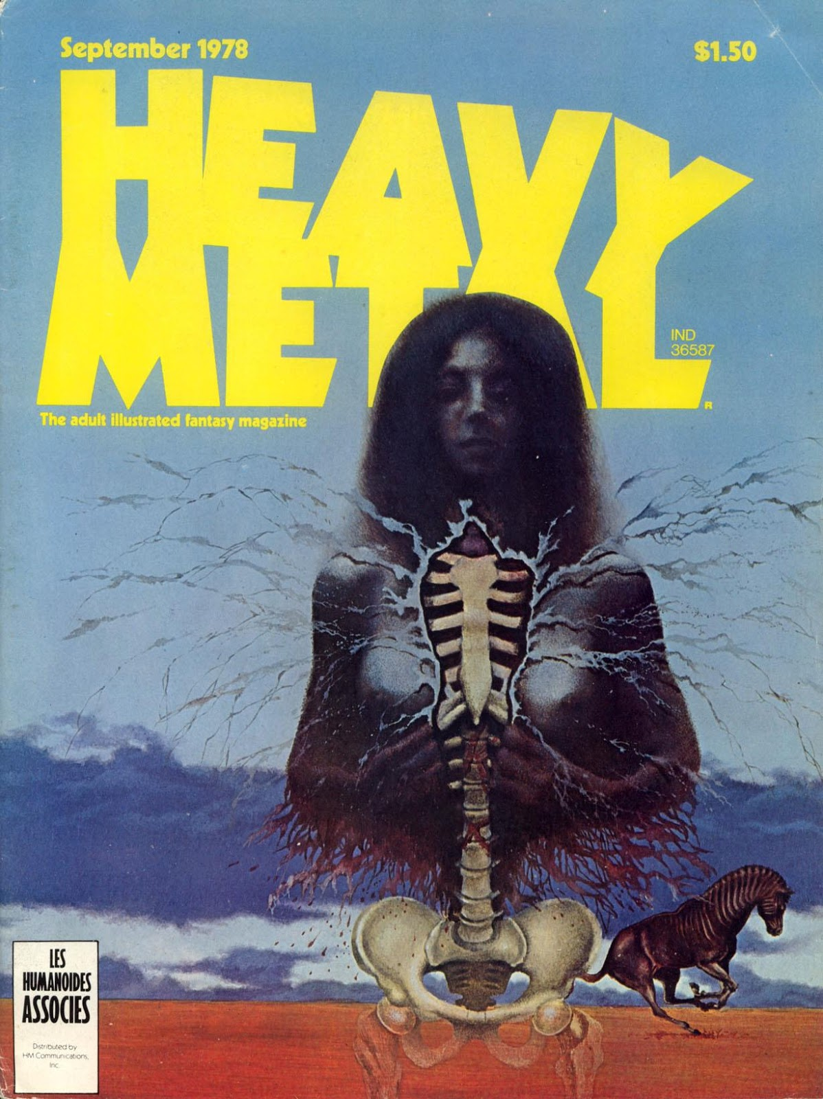 Images: A Fantastic Collection Of Stunning Sci-Fi And Fantasy Based Heavy Metal Comic Book Covers From The Late 1970's