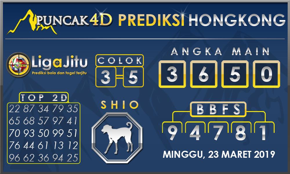 PREDIKSI TOGEL HONGKONG PUNCAK4D 24 MARET 2019