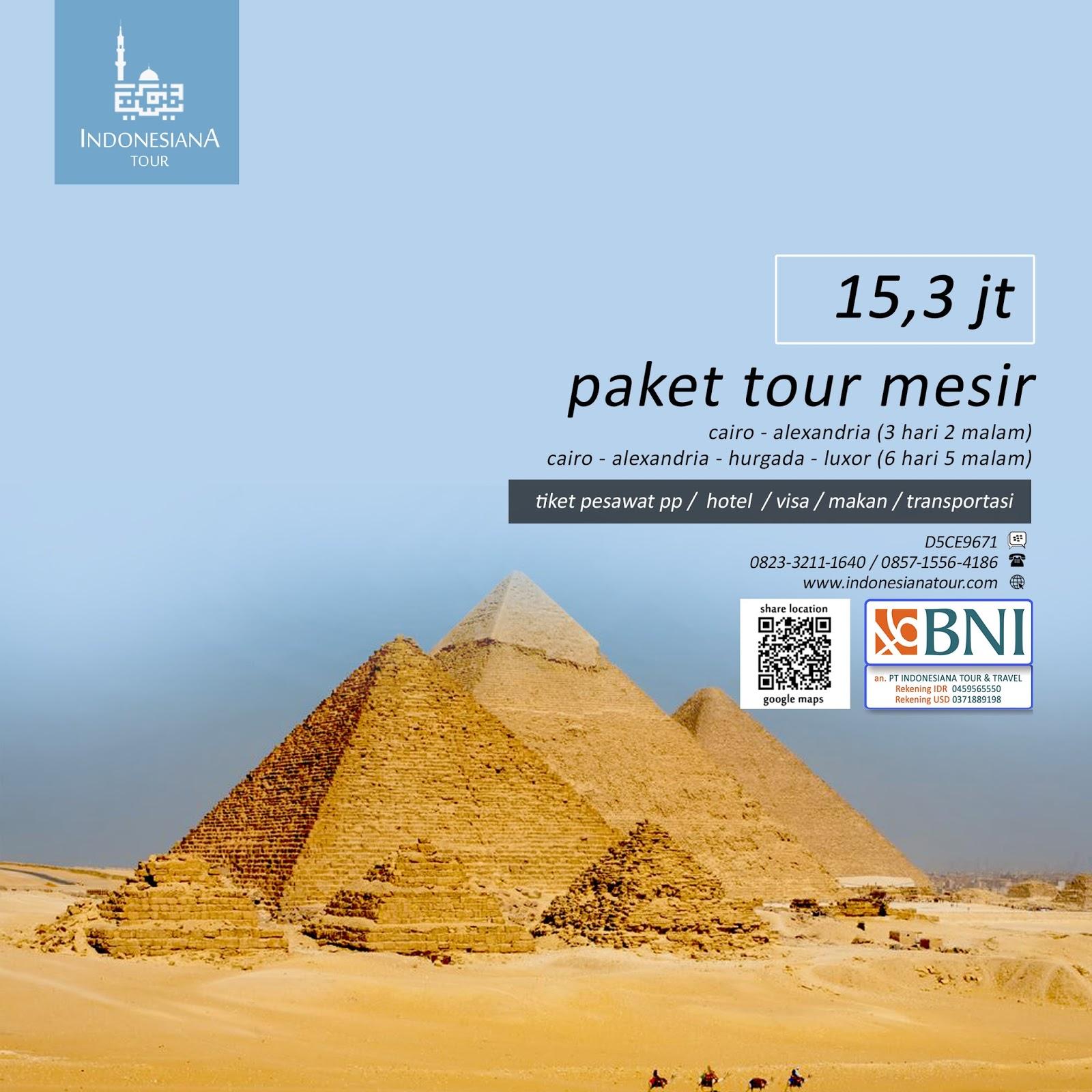 Paket Wisata Tour Mesir INDONESIANA TOUR