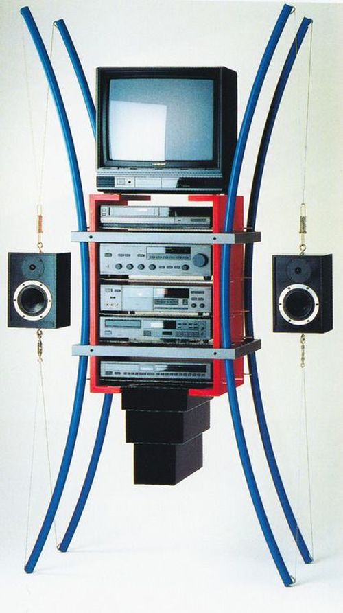 Joachim Stanitzek, Media Component Holder BG-1, 1988-1989