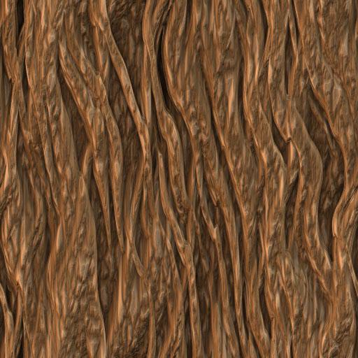 Bark Seamless Tiling Pattern 1