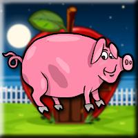 G2J Pink Pig Escape