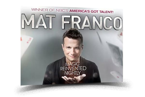 Mat Franco - Best Magic shows in Las Vegas