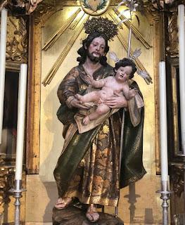 Coronación Canónica de San Jose en Cádiz
