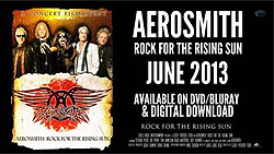 Aerosmith Rock For The Rising Sun DVD Blu-Ray