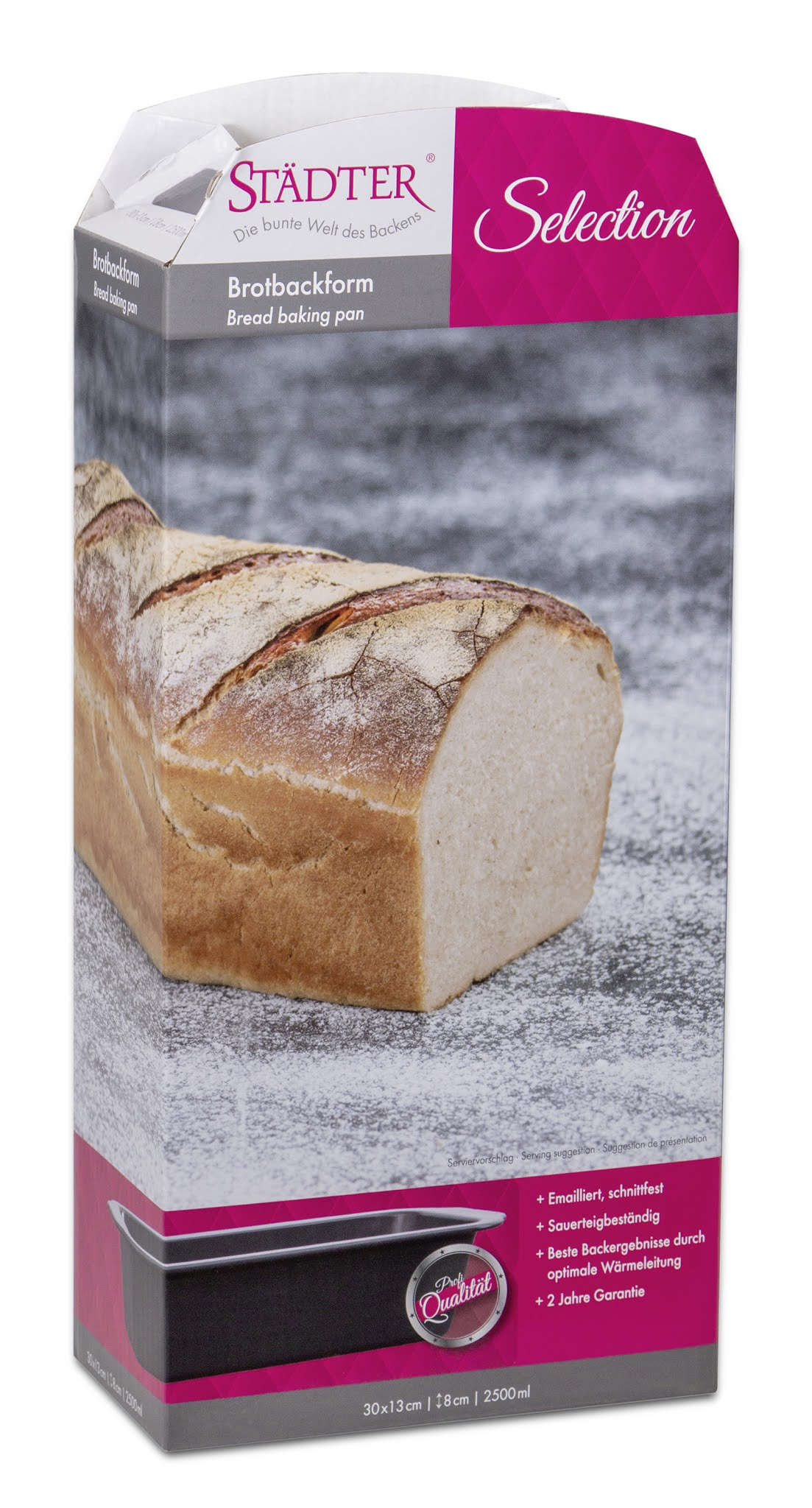 Selection Brot Backform der Firma Städter