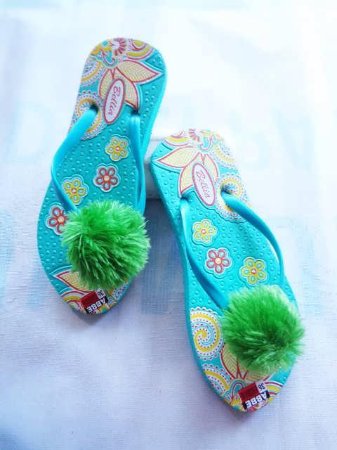 Pabrik Sandal Bulu | Pabrik Sandal Bunga | Pabrik Sandal PomPom