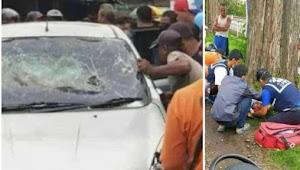 Diduga mengemudikan mobil dalam kondisi mabuk berakhir di hakimi massa