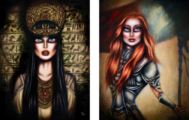 Cleopatra / Joan of Arc