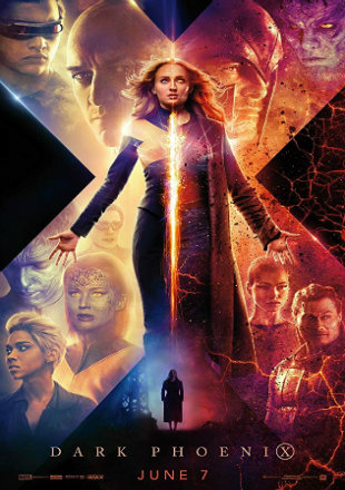 X-Men: Dark Phoenix 2019 Full Hindi Movie Download Dual Audio BRRip 720p