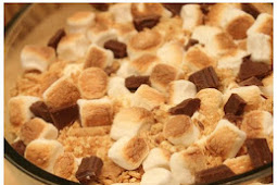 Brownie S'mores Trifle Dessert Recipe