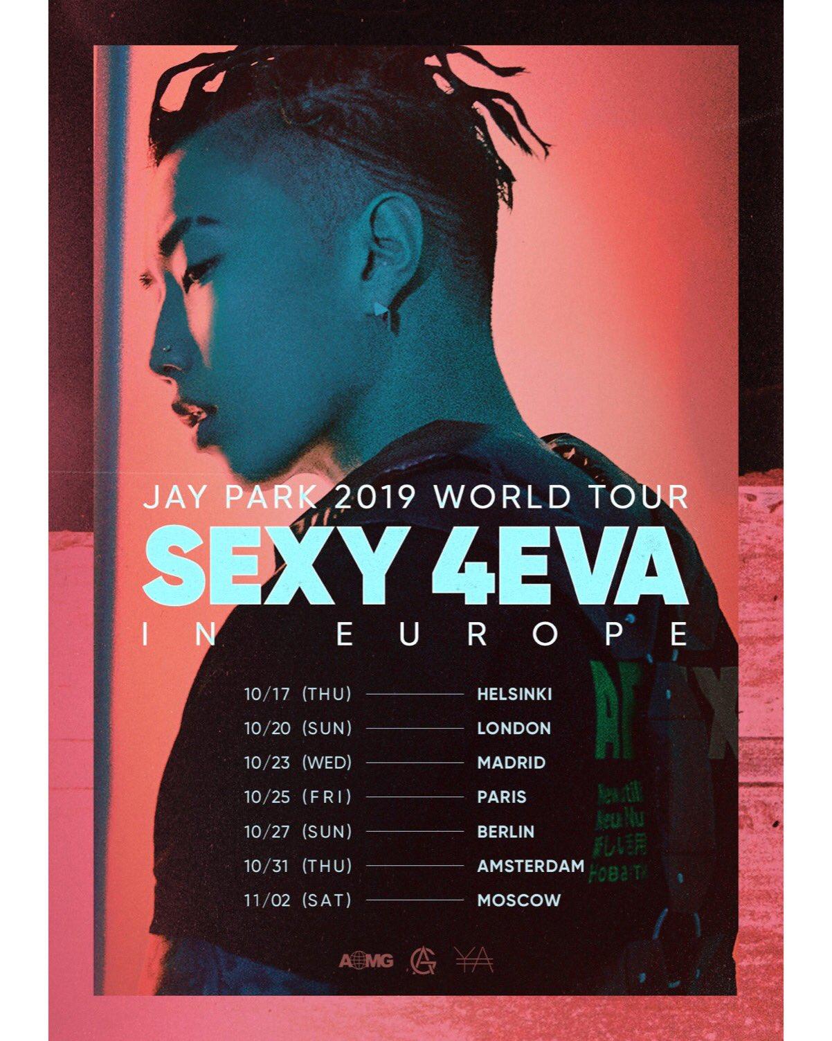 Jay Park Announces European leg of SEXY 4EVA WORLD TOUR