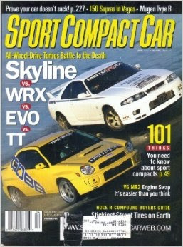 Sport Compact Car Magazine April 2003